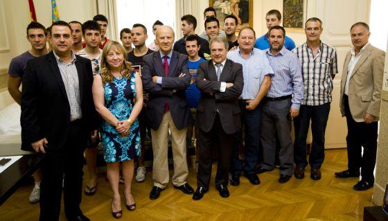 Alfonso Rus ha presentado la Copa Presidente de la Diputación de Valencia de pilota.