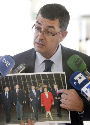 Enric Morera, tras declarar por el caso Nóos.