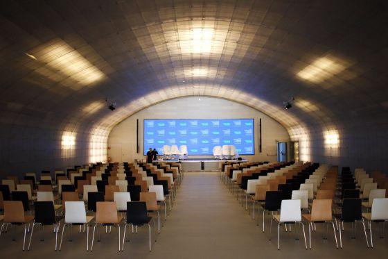 El auditorio de la Casa del lector.