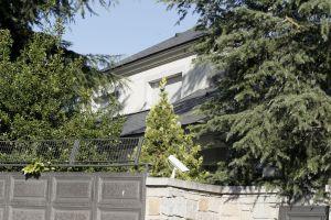 Exterior de la vivienda unifamiliar donde la mujer de 62 años fue atacada.
