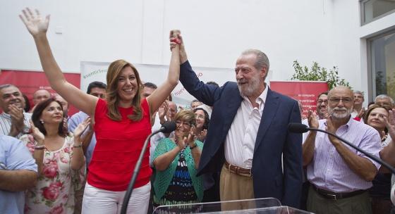 Susana Díaz y Fernando Rodríguez Villalobos.
