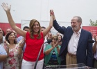 El equipo de Griñán arropa a Díaz como 'lideresa' del PSOE sevillano