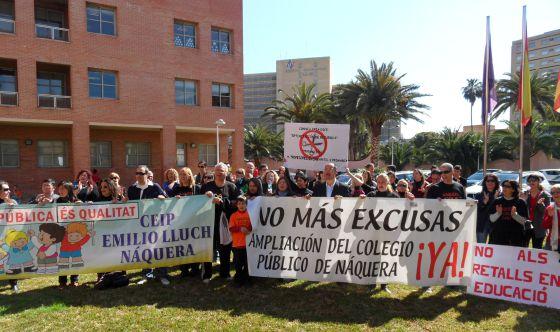 El Ampa del colegio público Ernest Lluch de Nàquera pidió explicaciones a la Consejería de Educación en marzo pasado.