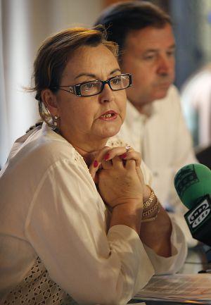 La presidenta del Colegio de Farmacéuticos de Valencia, María Teresa Guardiola.