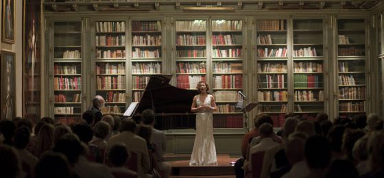Biblioteca donde se desarrollarán los conciertos de 'Ángeles, homenaje a Rainer Maria Rilke'. En la imagen, un concierto del año pasado.