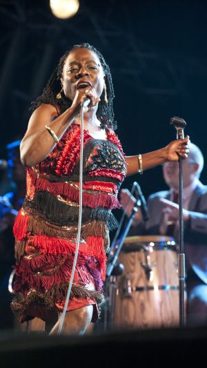 Sharon Jones, en el Cruïlla de Cultures.