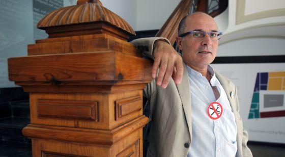 Vicent Moreno, presidente de Escola Valenciana.