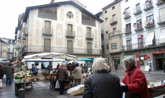 La Plaza de España de la Seu d'Urgell en una fotografía de archivo de 2006.
