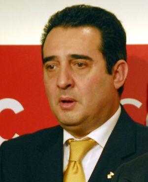 Manuel Bustos ( PSC) , alcalde de Sabadell, Barcelona y presidente de la Federación de Municipios de Cataluña.