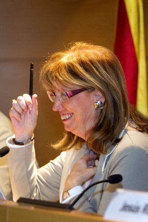 Irene Rigau, consejera de Enseñanza.