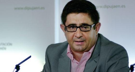 Francisco Reyes, secretario general del PSOE de Jaén y presidente de la Diputación.