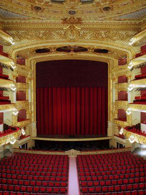 El Teatro del Liceo de Barcelona.