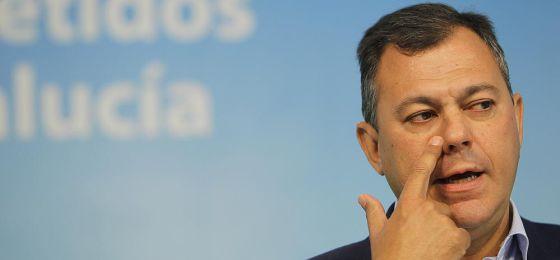 José Luis Sanz, secretario general del PP andaluz