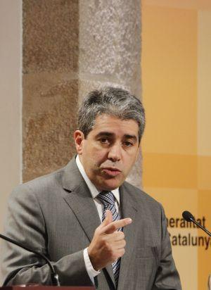 Francesc Homs, portavoz del Gobierno de la Generalitat.