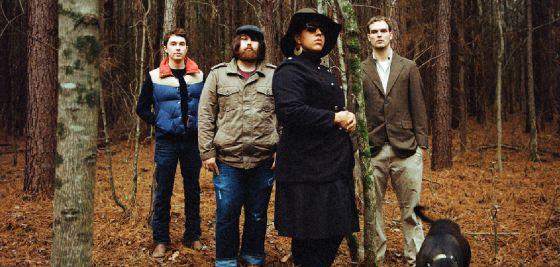 Los cuatro integrantes de Alabama Shakes, en una fotografía promocional.
