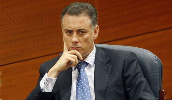 Alberto López Viejo, en la Asamblea de Madrid.