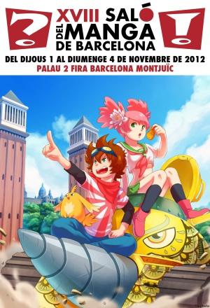 El Comité Organizador del XVIII Salón del Manga ha escogido la ilustración de la joven dibujante gallega Susana Broullón como cartel del certamen