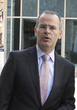 El conselleiro Jesús Vázquez
