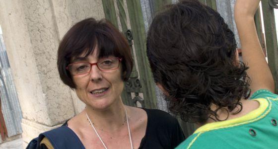 Consuelo Martí, con su hijo Pablo.