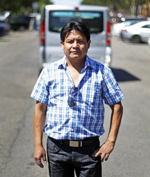 Luciano, desahuciado, debe 140.000 euros al banco.