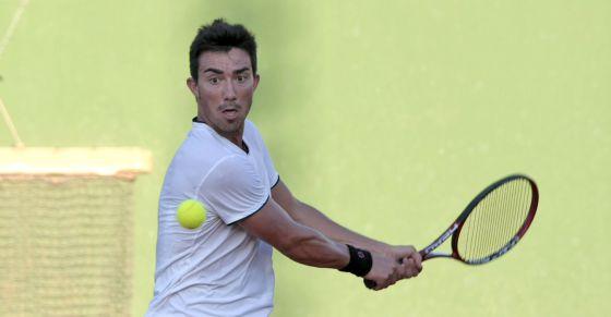 El tenista alicantino Juanmi Such.