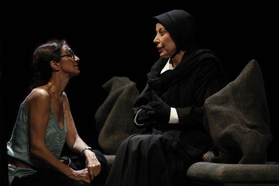 Sílvia Munt dirige a Rosa Maria Sardá en la obra Dubte.