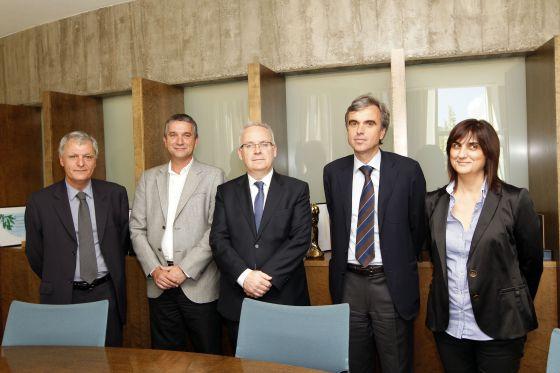 Nuevo equipo directivo de la CCMA (Corporación Catalana de Medios Audiovisuales).