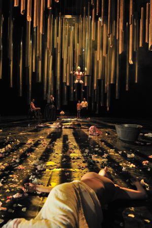 Una imagen de la versión de Bieito y Santos de 'El gran teatro del mundo'.