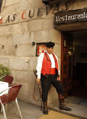 Las cuevas de Luis Candelas, uno de los comercios turísticos de Madrid.