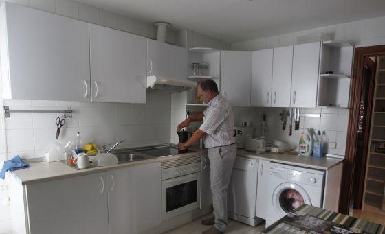 Uno de los alojamientos de intercambio en Madrid.