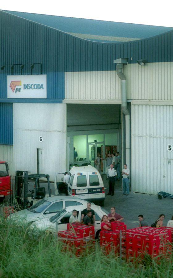 La empresa Discoda, tras el tiroteo en 2002 en el que murió uno de sus empleados