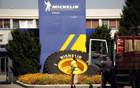 La planta de Michelin en Vitoria emplea a unos 3.300 trabajadores.
