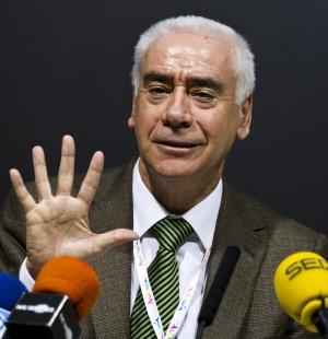 El consejero de Turismo y Deportes Luciano Alonso.