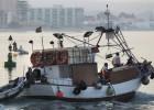 Los pescadores de Algeciras vuelven a faenar en el Peñón