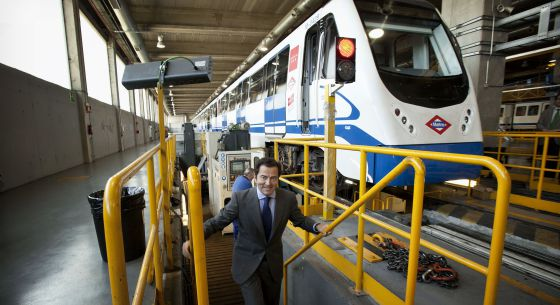El consejero de Transportes, Pablo Cavero.