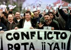 El aeropuerto de Rota cubre con militares las bajas por huelga