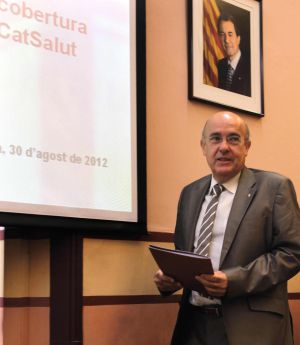 El consejero de Sanidad de la Generalitat, Boi Ruiz.