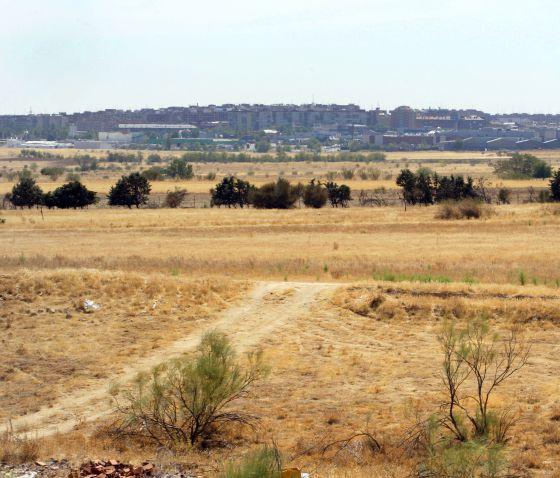 Terrenos del término de Alcorcón ofrecidos a Eurovegas.