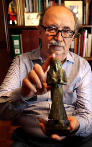 Josep Padró, egiptólogo.