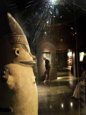 Otras de las cerámicas del ya cerrado museo Barbier-Mueller de Barcelona.