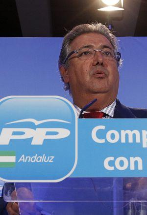 Juan Ignacio Zoido, en un acto de su partido.
