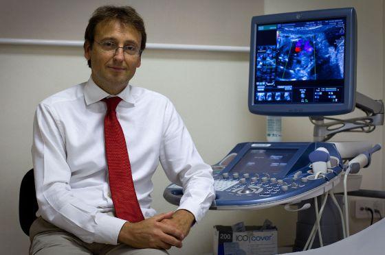 Eduard Gratacós, cirujano maternofetal en el Clínic de Barcelona.