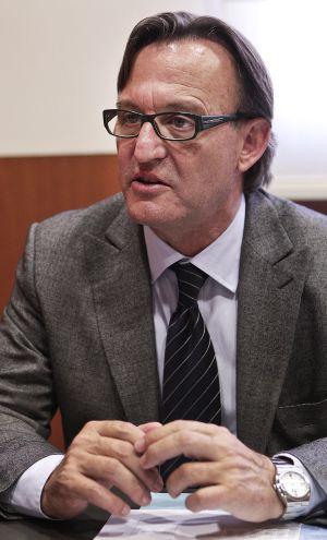 Josep Maria Vila d'Abadal, alcalde democristiano de Vic.