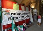 Delegados del SAT se encierran en la Universidad de Sevilla