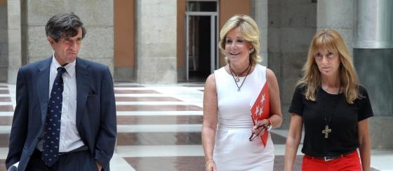 Esperanza Aguirre e Isabel Gallego.