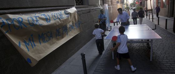 Tramo de la calle de la Palma, peatonal hasta el 22 de septiembre.