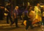 La policía desaloja un edificio ocupado por cinco familias