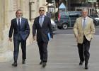Correa, Crespo y El Bigotes se niegan a una prueba de voz