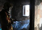 Cuatro heridos en el incendio de una vivienda en Paterna