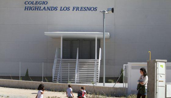 Exterior del colegio Highlands Los Fresnos.